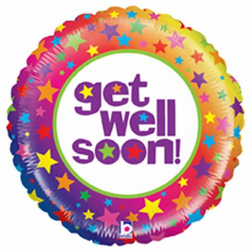Folieballon Get Well Soon