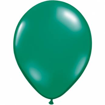 10 stuks 11 inch Emerald Green Qualatex Ballon