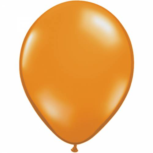 10 Stuks 11 Inch Mandarin Orange Qualatex Ballon