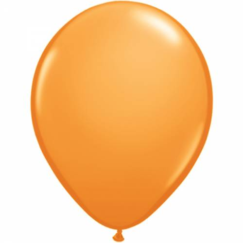 10 Stuks 5 Inch Orange Qualatex Ballon