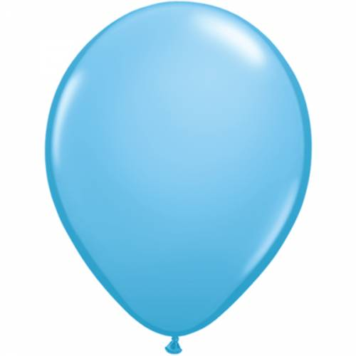 100 Stuks 11 Inch Pale Blue Qualatex Ballon