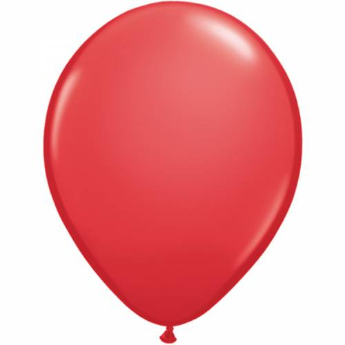 100 Stuks 11 Inch Red Qualatex Ballon