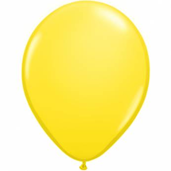 10 Stuks 11 Inch Yellow Qualatex Ballon