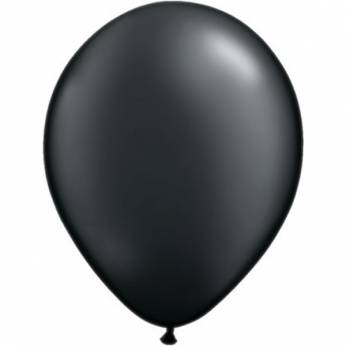 10 Stuks 11 Inch Pearl Onyx Black Qualatex Ballon