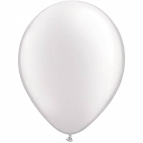 100 Stuks 11 Inch Pearl White Qualatex Ballon