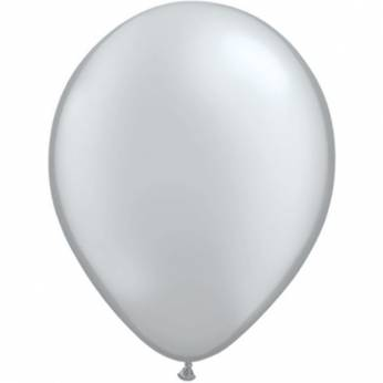 10 Stuks 11 Inch Silver Qualatex Ballon