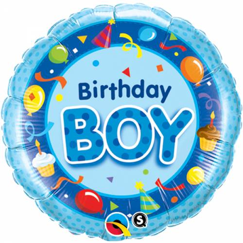 Folieballon Birthday Boy