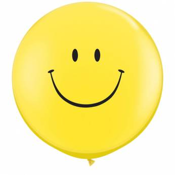 Smile Face Yellow 3ft per Stuk