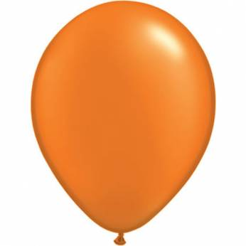 10 Stuks 11 Inch Pearl Mandarin Orange Qualatex Ballon
