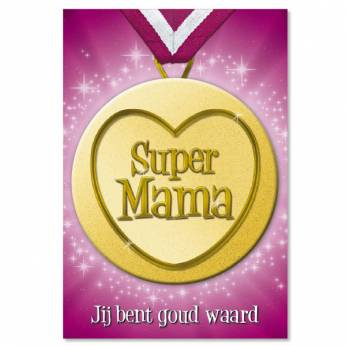 Button Card Supermama