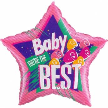 Folieballon Baby You're the Best