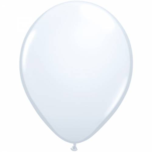 100 Stuks 5 Inch White Qualatex Ballon