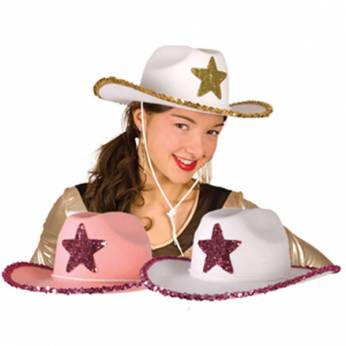 Cowgirl Hoed Wit