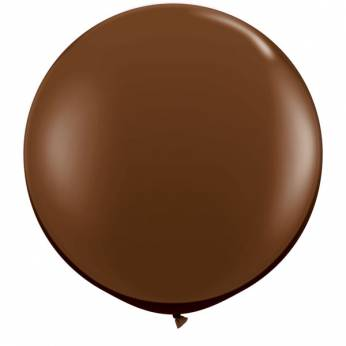 Qualatex Chocolate Brown (Chocolade Bruin) Ballon 3ft per Stuk