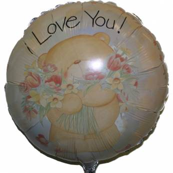 Folieballon Forever Friends met de Tekst: I love you