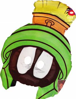 1 X Ballonmasker Marvin The Martian (Looney Tunes)