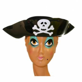 Piratenhoed plastic