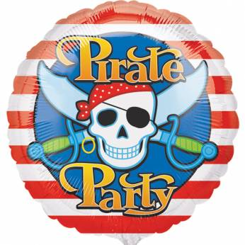 Folieballon Pirate Party