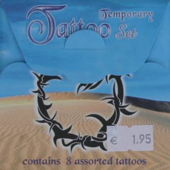 Tattoo set 8st
