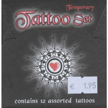 Tattoo set 12st