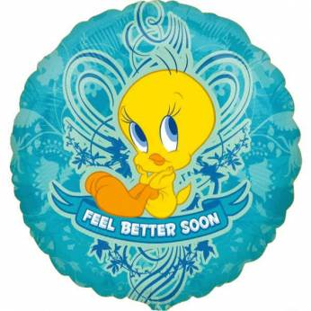 Folieballon Tweety Feel Better Soon
